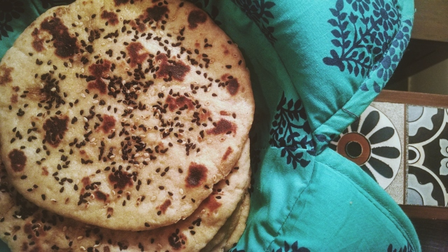 Wholewheat Naan